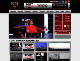 tgrt-fm.com.tr screenshot