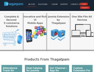 thagatpam.in screenshot