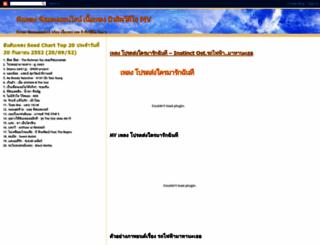 thai-songs.blogspot.com screenshot