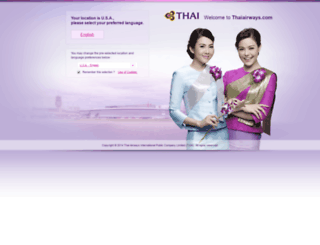 thaiair.com screenshot