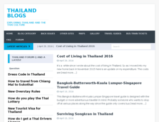 thailand-blogs.com screenshot