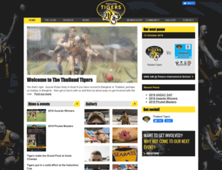 thailand-tigers.com screenshot