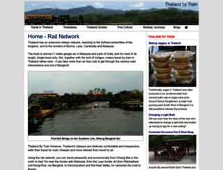 thailandbytrain.com screenshot