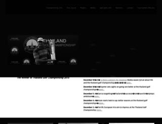 thailandgolfchampionship.com screenshot