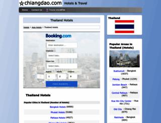 thailandhotels.chiangdao.com screenshot