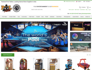 thailandpooltables.com screenshot