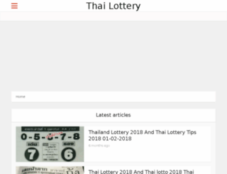thailotteryresult.net screenshot