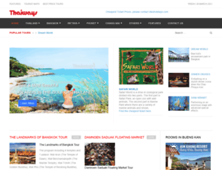 thaiwaysmagazine.com screenshot