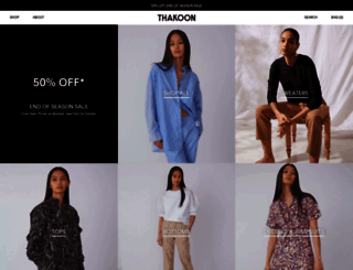 thakoon.com screenshot