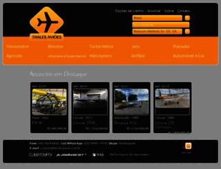 thalesavioes.com.br screenshot