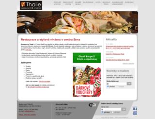 thalie.cz screenshot
