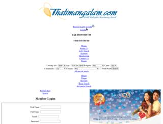 thalimangalam.com screenshot