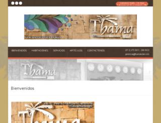 thamahotel.com screenshot