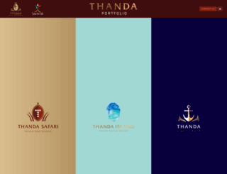 thanda.com screenshot