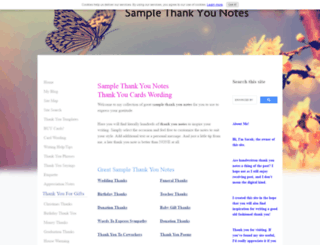 thank-you-note-examples-wording-ideas.com screenshot