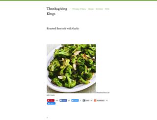 thanksgivingkings.tumblr.com screenshot