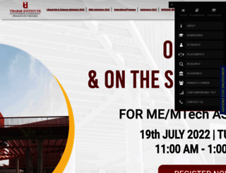 thapar.edu screenshot