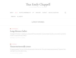 thatemilychappell.com screenshot