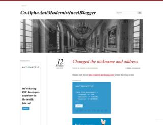 thatincelblogger.wordpress.com screenshot