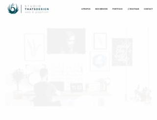 thats-design.com screenshot