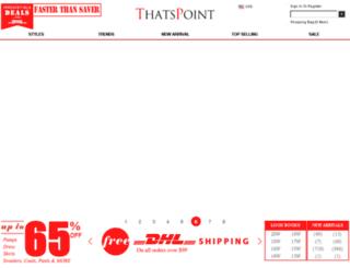 thatspoint.com screenshot