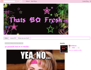 thatssofresh.blogspot.com screenshot