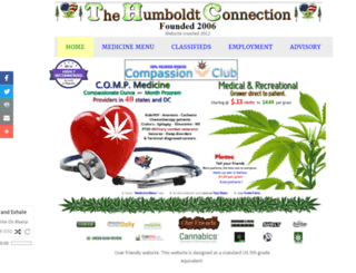 thc-thehumboldtconnection.org screenshot