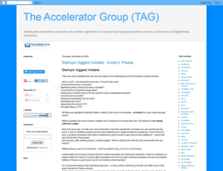 the-accelerator.blogspot.com screenshot