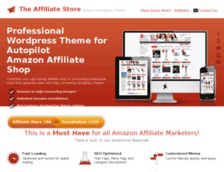 the-affiliate-store.com screenshot