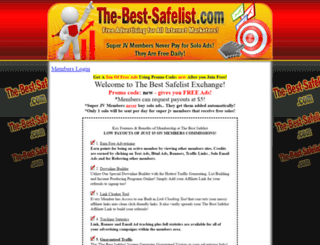 the-best-safelist.com screenshot