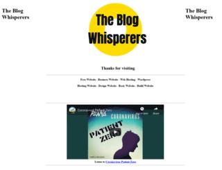 the-blog-whisperers.com.au screenshot