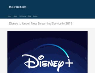 the-crazed.com screenshot