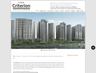 the-criterion-ec.sg screenshot