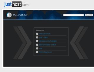 the-crush.net screenshot