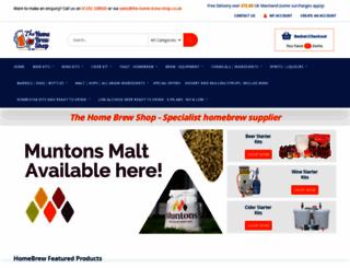 the-home-brew-shop.co.uk screenshot