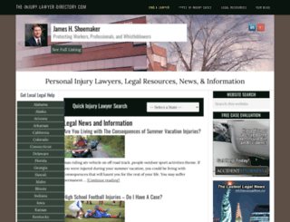 the-injury-lawyer-directory.com screenshot