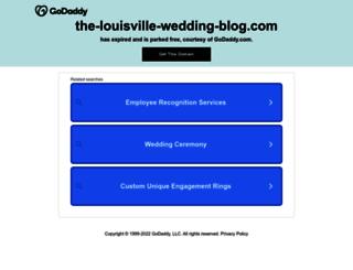 the-louisville-wedding-blog.com screenshot