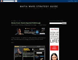 the-mafia-wars-guide.com screenshot