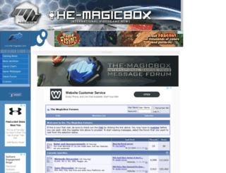 the-magicbox.com screenshot