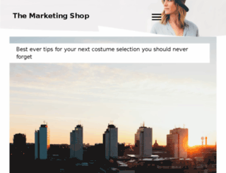 the-marketing-shop.com screenshot