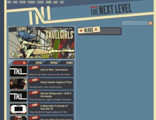 the-nextlevel.com screenshot