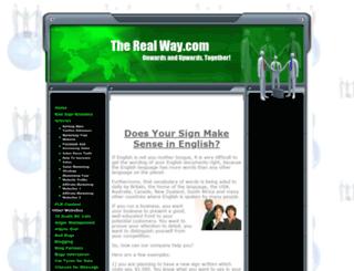 the-real-way.com screenshot
