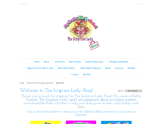 the-scripture-lady-shop.myshopify.com screenshot