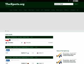 the-sports.org screenshot
