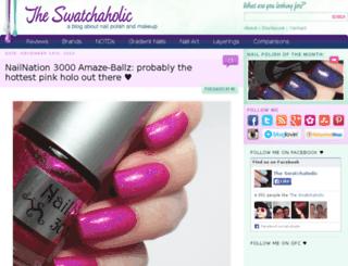 the-swatchaholic.com screenshot