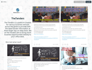 the-tenders.tumblr.com screenshot