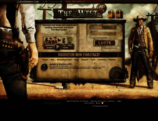 the-west.net screenshot