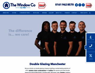 the-windowco.co.uk screenshot