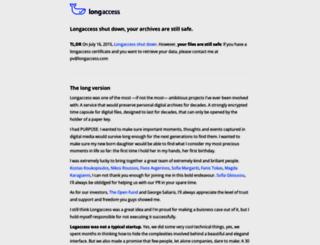 the.longaccess.com screenshot