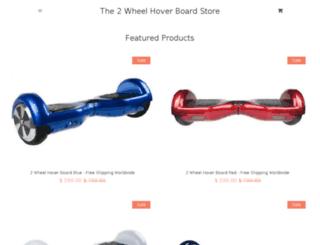 the2wheelhoverboardstore.com screenshot